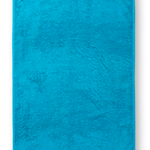 towel blue