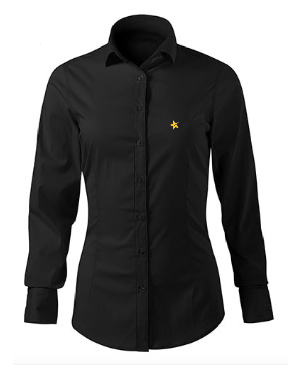 women shirt black